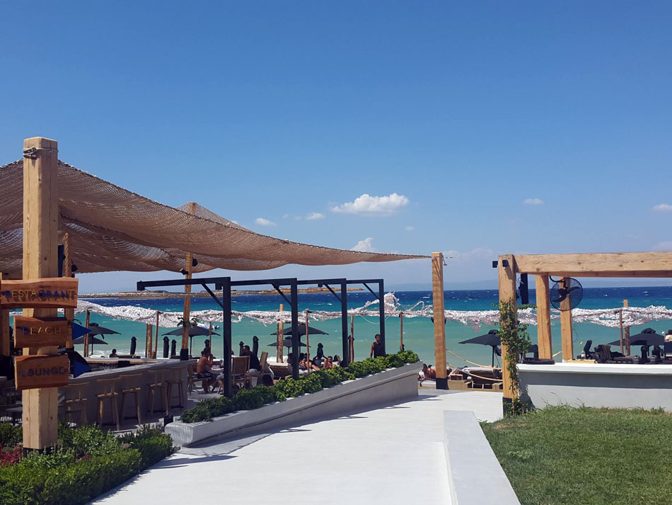 The Best Seaside Restaurants in Halkidiki, Greece.