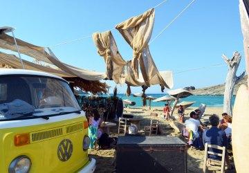 the best beach bar in Greece, Tinos 9