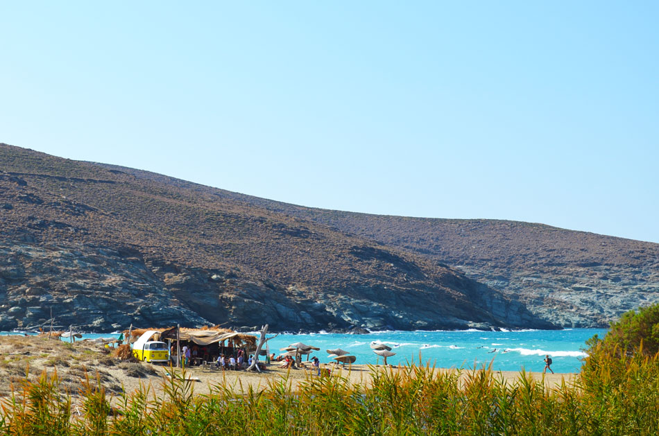 the best beach bar in Greece, Tinos 14