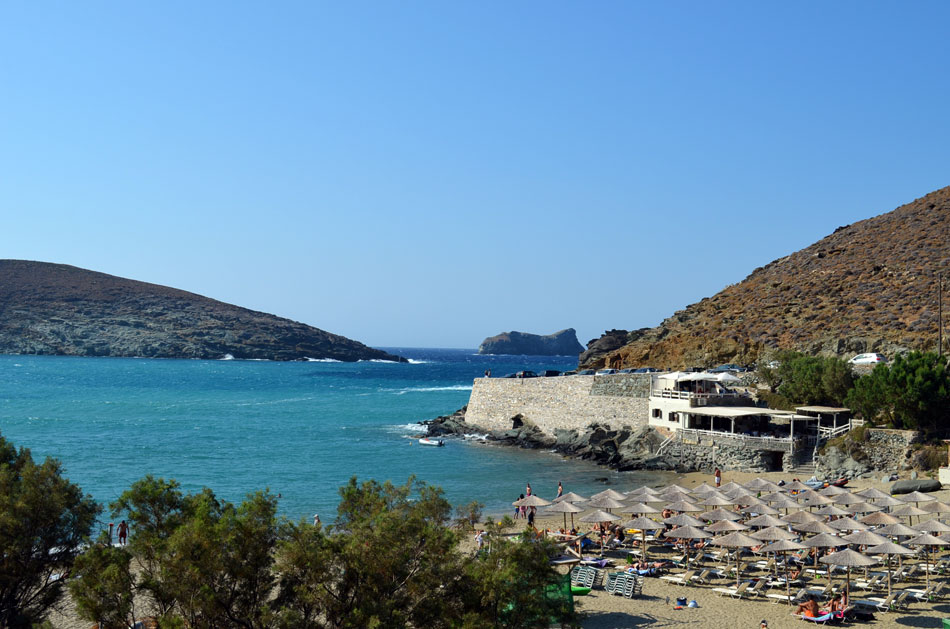 the best beach bar in Greece, Tinos 4