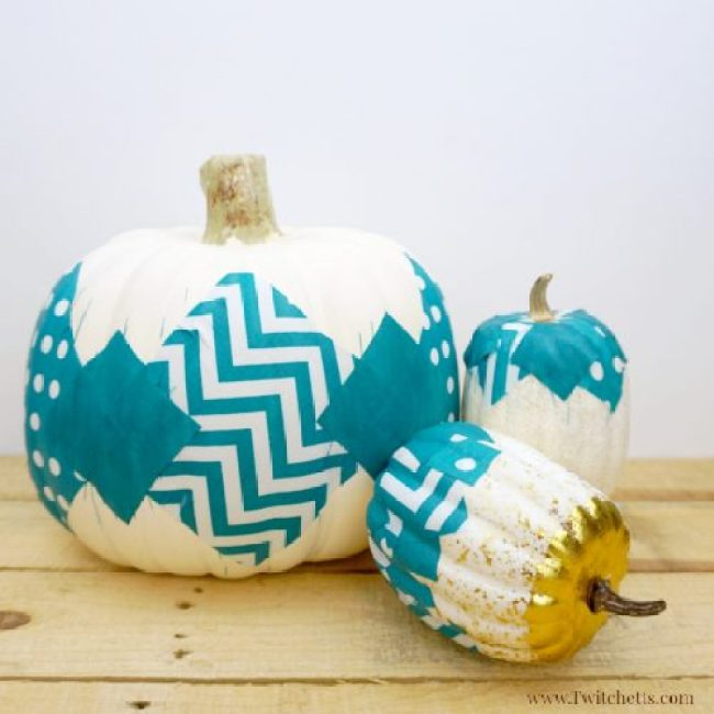 best halloween painted pumpkin decoration 8
