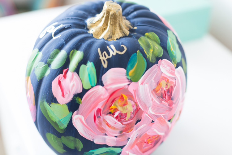 best halloween painted pumpkin decoration 4