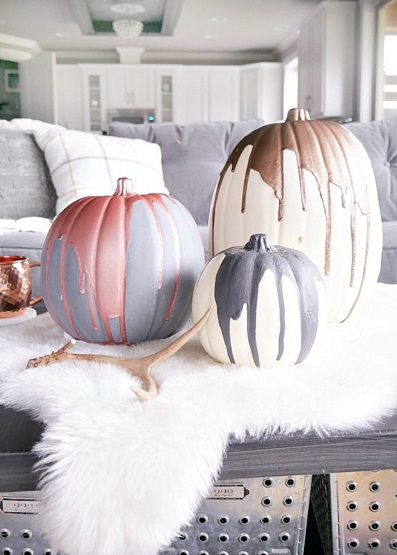 best halloween painted pumpkin decoration 5