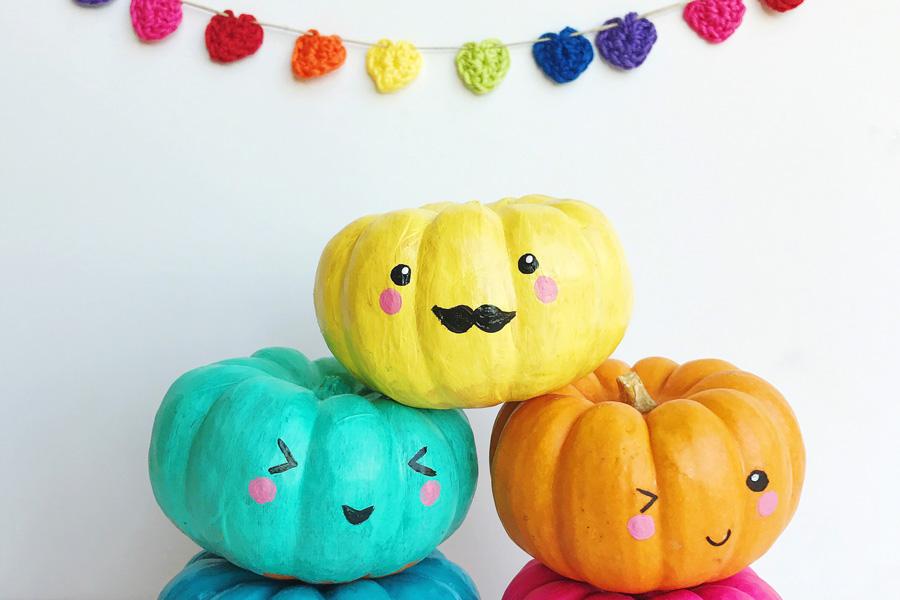 Easy, Pretty and Creative Pumpkin Decorating Ideas