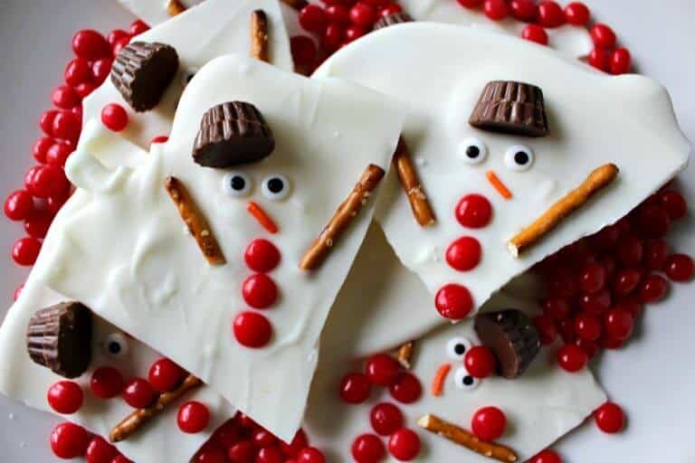 Creative snowman recipes for christmas table 11