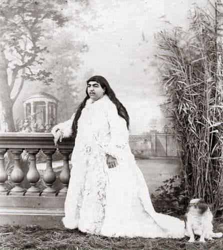 Anis al-Doleh, The Princess With Moustache. 13 Men Committed Suicide Because She Rejected Them.