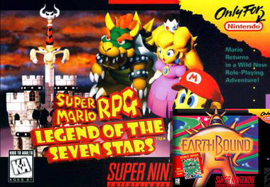 The Votes are in, Super Mario RPG and Earthbound have been