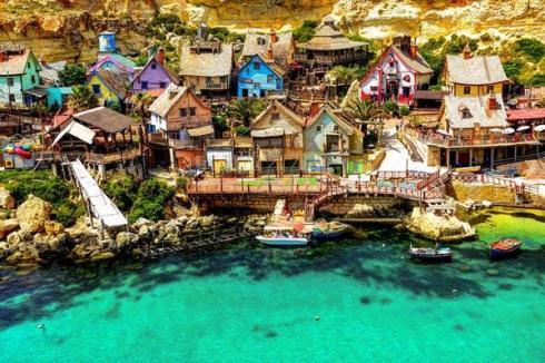 Popeye village Malta's tourist attraction