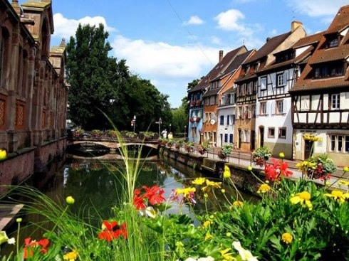 Europe's most beautiful city Colmar, France