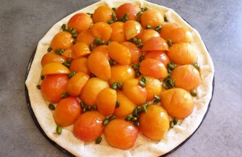 healthy pizza recipe with apricot