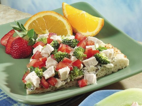 healthy pizza recipe with brocoli