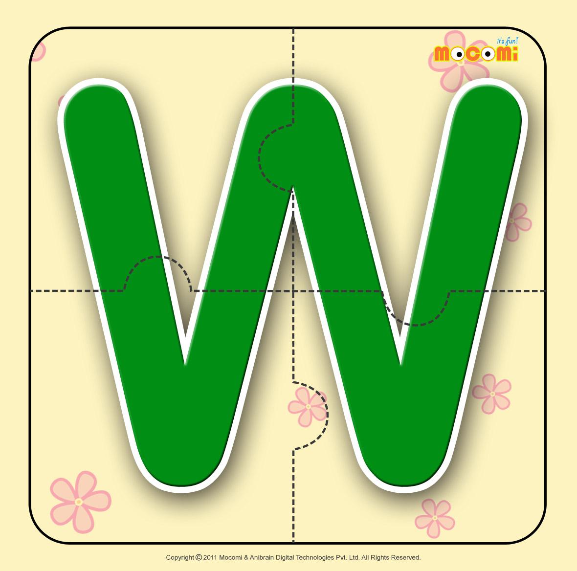 Alphabet W