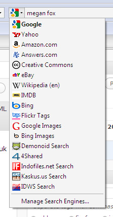 Firefox Search Add-ons
