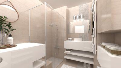Image représentant les réalisations de salles de bain et de toilettes en 3D