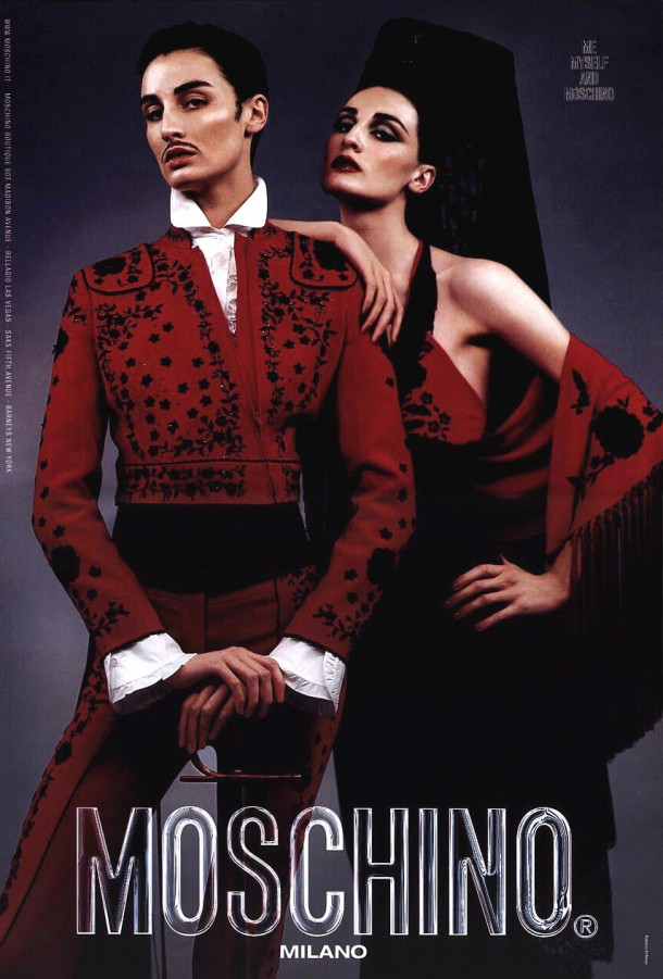 Moschino 2001 SS Campaign