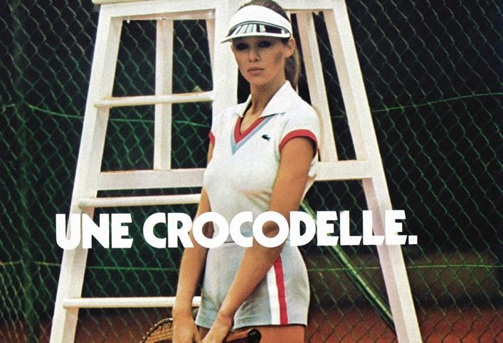 Lacoste Campagna pubblicitaria Crocodiles
