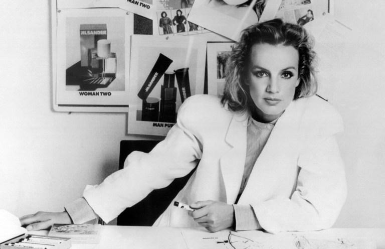Jil Sander La stilista nel 1983