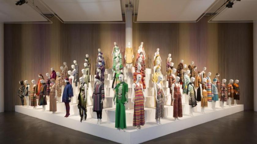 """Dizionario della Moda Mame: Missoni. La mostra """"Missoni, art, colour"""" al Fashion and Textile Museum di Londra."""