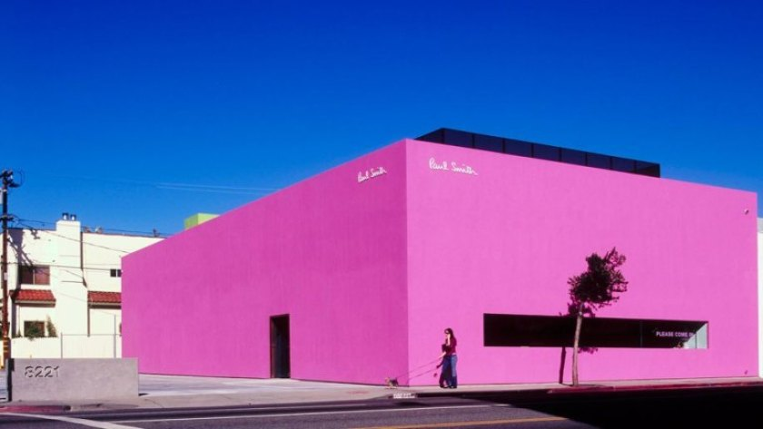 Dizionario della Moda Mame: Paul Smith. La boutique di Los Angeles.