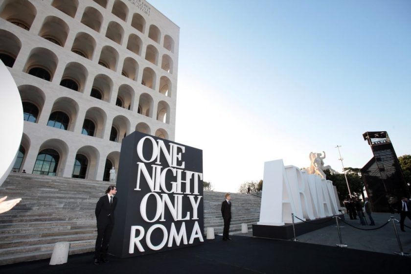 Armani Evento One Night Only, Roma