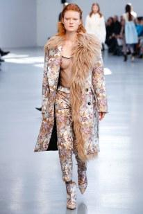Dizionario della Moda Mame: Albino Teodoro. Collezione fall 2017 ready-to-wear: stampe e trasparenze
