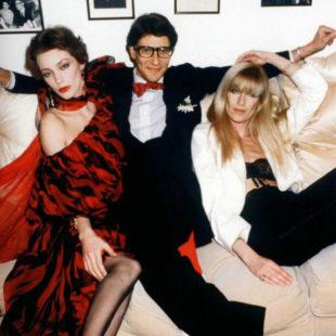 Dizionario della Moda Mame: Betty Catroux. Il trio Lulu de la Falaise, Yves e Betty