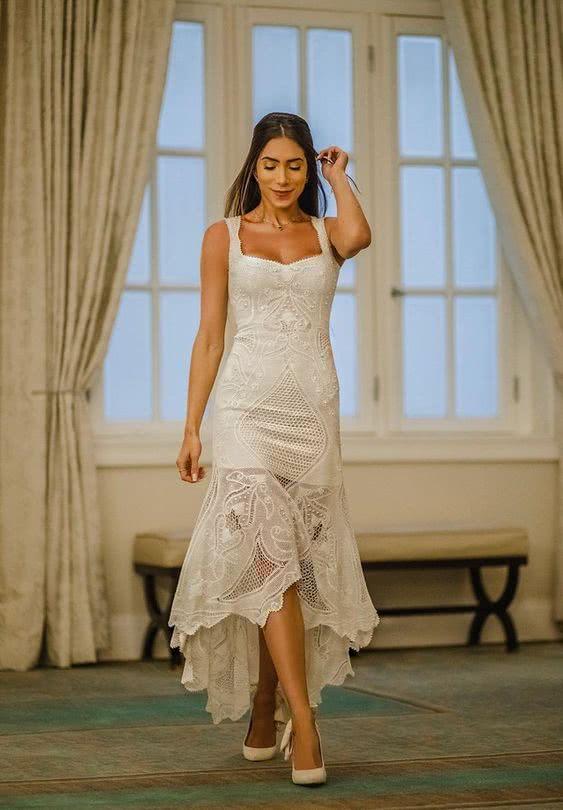 Fotos de vestidos de noiva simples 2022