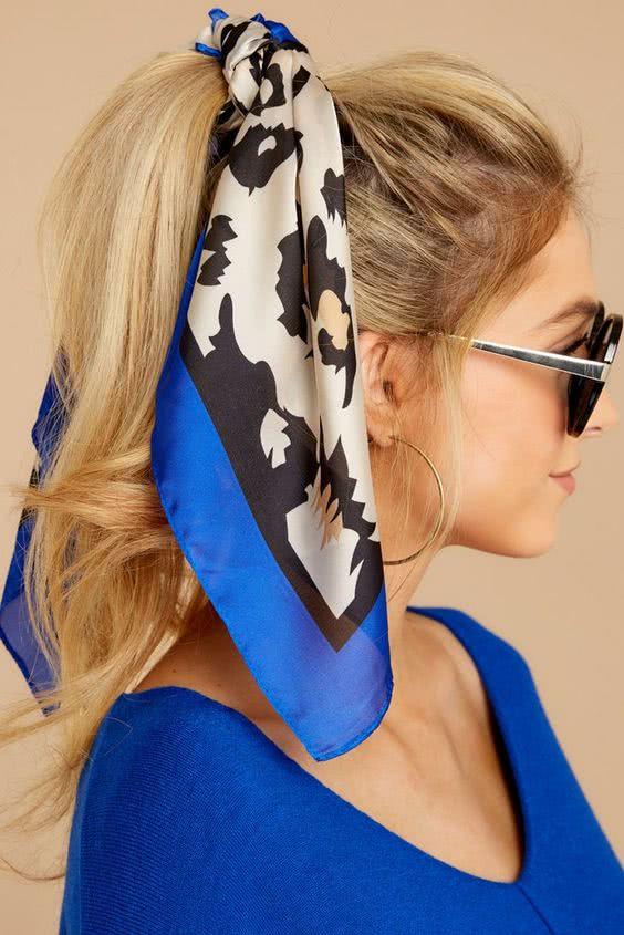 Como Usar lenço em 2022 na cabeça