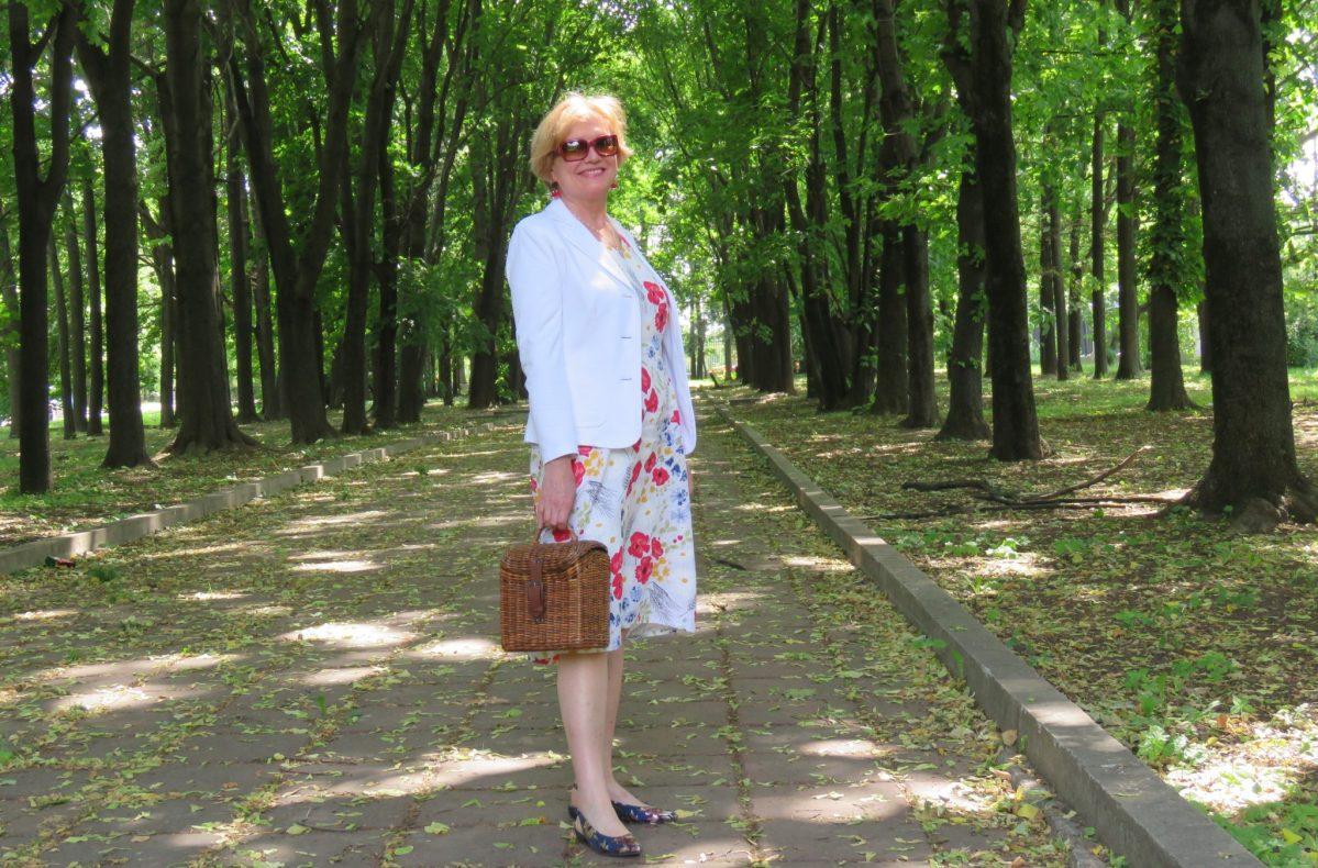 Лето в цветочек или любимое платье