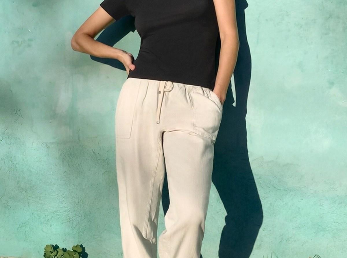 брюки на резинке