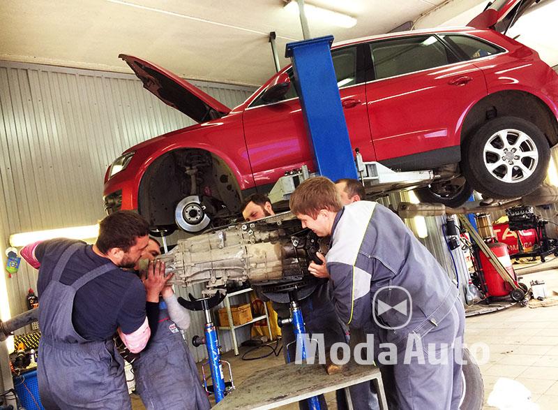 Ремонт акпп Audi Q5