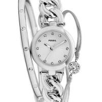 Gümüş bayan kol takımı(Saat,bilezik,bileklik)