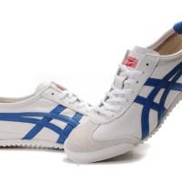 Hem bay hem de bayanlara sevgili çift için beyaz-mavi ayakkabı