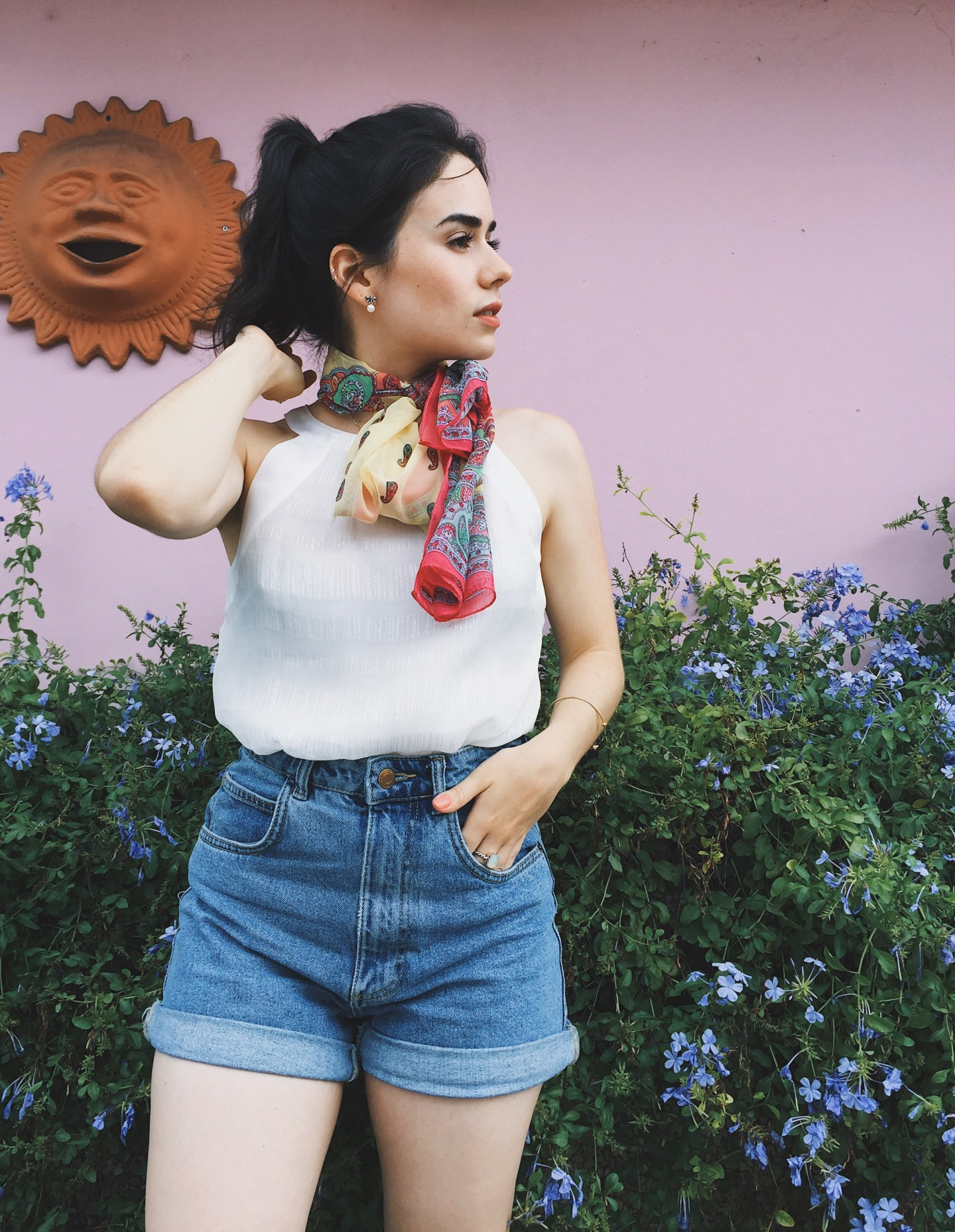 2 Ways To Style High Waisted Shorts For Summer