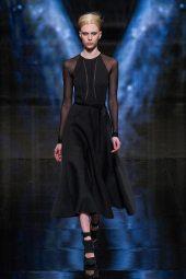 Juliana Schurig - Donna Karan 2014 Sonbahar-Kış Koleksiyonu