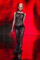 Nastya Sten - Donna Karan 2014 Sonbahar-Kış Koleksiyonu