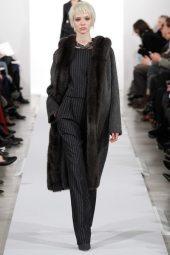 Sasha Luss - Oscar de la Renta 2014 Sonbahar-Kış Koleksiyonu