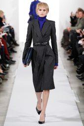 Anabela Belikova - Oscar de la Renta 2014 Sonbahar-Kış Koleksiyonu
