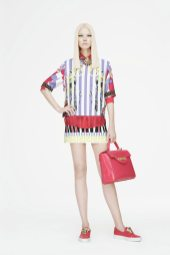 Sasha Luss - Versace 2015 Resort