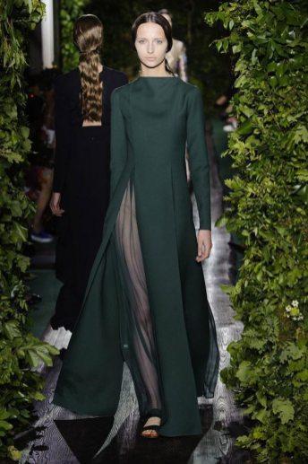 Waleska Gorczevski - Valentino 2014 Sonbahar Haute Couture