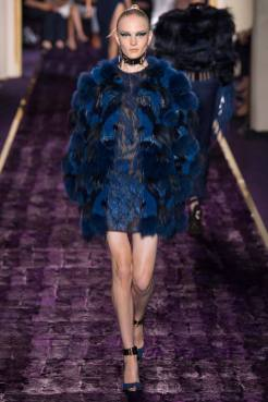 Maja Salamon - Atelier Versace Fall 2014 Couture