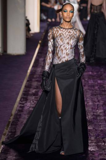 Jourdan Dunn - Atelier Versace Fall 2014 Couture