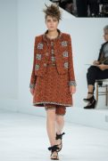 Caroline Brasch Nielsen - Chanel Fall 2014 Couture