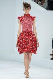 Fia Ljungstrom - Chanel Fall 2014 Couture