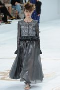 Marine Deleeuw - Chanel Fall 2014 Couture