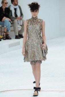Rachael Robinson - Chanel Fall 2014 Couture
