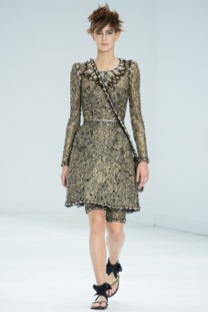 Jeanne Cadieu - Chanel Fall 2014 Couture