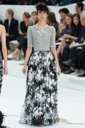 Jamie Bochert - Chanel Fall 2014 Couture