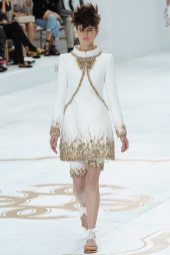 Saskia de Brauw - Chanel Fall 2014 Couture