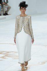Amanda Sanchez - Chanel Fall 2014 Couture